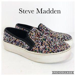 Steve Madden Gracious slip on sneaker 6.5